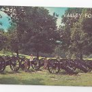 Valley Forge PA Knoxs Artillery Cannons Vintage Postcard National Park