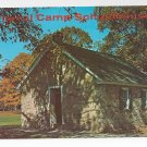 Valley Forge PA Old Camp Schoolhouse Vintage Postcard
