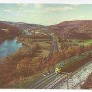 Erie Railroad Passenger Train Crossing Susquehanna River