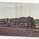 Train New York Central 5214 Hudson Steam Locomotive Vintage Postcard