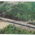 Train Penn Central Metroliner Aerial View RR Vintage Postcard