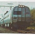 Train Penn Central Metroliner RR Vintage Postcard