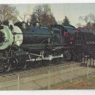 Train Long Island Railroad Steam Locomotive 35 Vintage RR Postcard