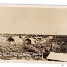 Alaska Fort Yukon RPPC Midnight Sun 1930 Real Photo Postcard