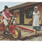 Railroad Velocipede Black River & Western RR Flemington NJ Train Postcard