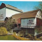 New Hope PA Bucks County Playhouse Theater 1964 Vintage Postcardage Postcard