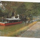 New Hope Bucks County PA Barge Ride Delaware Canal 1960s Postcard