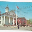 Flemington NJ Postcard Hunterdon County Courthouse New Jersey 1969