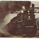 Train Nickel Plate Road Steam Locomotive # 759 RR 2-8-4 Postcard
