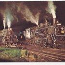 Train Railroad Postcard New Hope & Ivyland Steam Engines Bucks Co. PA RR