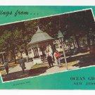 Greetings From Ocean Grove NJ Beersheba Well Vintage Postcard