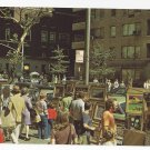 Greenwich Village New York NY Outdoor Sidewalk Art Exhibit 1960s Nester's