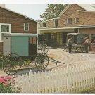 Amish Carriage Maker's Shop Mel Horst Lancaster Vintage Postcard