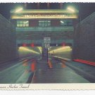 Baltimore MD Harbor Tunnel 1970s Traub Postcard 4X6