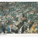 Baltimore MD Lexington Market 1970s Traub Postcard 4X6