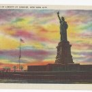 New York Statue of Liberty at Sunrise Linen