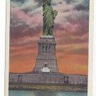 New York Statue of Liberty at Sunrise NY Harbor