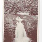 Marshalls Creek Twin Valls Millar Sepia Postcard