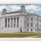 Syracuse University NY Carnegie Library ca 1920 Postcard