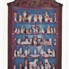 Winterthur DE Chalkware Figures Henry Du Pont Museum Postcard