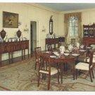 Winterthur Museum Wilmington DE Interior Dining Room 4X6 Postcard