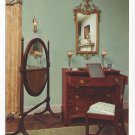 Winterthur Museum Wilmington DE Interior Blue Room 4X6 Postcard