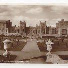 UK Windsor Castle East Terrace RPPC Berkshire Valentines Real Photo Postcard