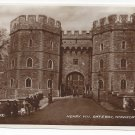 UK Windsor Castle Henry VIII Gateway RPPC Berkshire Valentines Real Photo Postcard