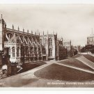 UK Windsor Castle St Georges Chapel RPPC Valentines Real Photo Postcard