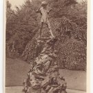 UK London Peter Pan Statue ca 1920 Vintage Photochrom Postcard
