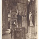 UK London Westminster Abbey Tomb Mary Queen of Scots ca 1920 Photochrom Postcard
