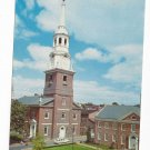 Lancaster PA Lutheran Church of the Holy Trinity Jim Hess Vintage Postcard