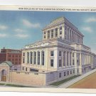 Boston MA Christian Science Publishing Building Vintage 1938 Postcard