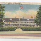 Trenton NJ Old Barracks Vintage Linen Postcard