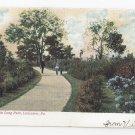 Lancaster PA Long Park Vintage 1909 UND Postcard