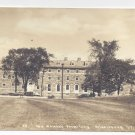 RPPC Middlebury VT College Womens Dormitory West Forest Hall 1938 Real Photo Postcard
