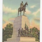 PA Gettysburg Virginia State Memorial Vintage 1947 Linen Postcard