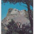 SD Mount Rushmore Black Hills South Dakota Vintage Postcard