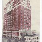NJ Atlantic City Colton Manor Hotel Vintage Advertising Postcard
