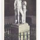 VA Richmond Houdon Statue of Washington Vintage Linen Postcard