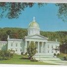 VT Montpelier State House Capitol Vintage Postcard 4X6