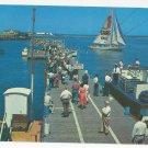 NJ Atlantic City Inlet Pier Vintage 1953 Postcard