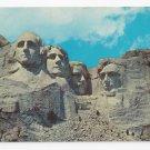 SD Mt Rushmore Black Hills South Dakota Vintage 1962 Postcard