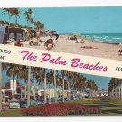 FL Palm Beach Greetings Vintage 1970 Florida Postcard