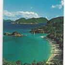 Trunk Bay Virgin Islands Nat'l Park St John Vintage Postcard