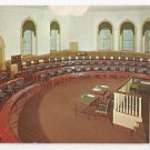 PA Philadelphia House of Representatives Chamber Congress Hall Vintage Postcard