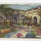 PA Hershey Hotel Patio Vintage 1949 Postcard