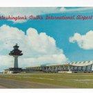 Washington DC Dulles International Airport Vintage Postcard