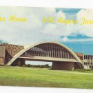 OK Glass House Restaurant Will Rogers Turnpike Vintage Postcard