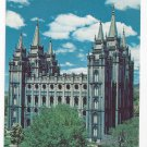 UT Salt Lake City Mormon Temple Vintage 1962 Postcard